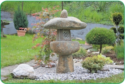 Японский садик на даче своими руками фото