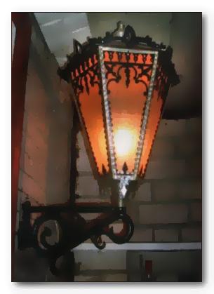 Дачный фонарь своими руками
