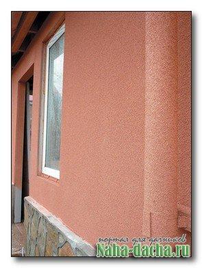 Фасад без трещин из натуральной пробки