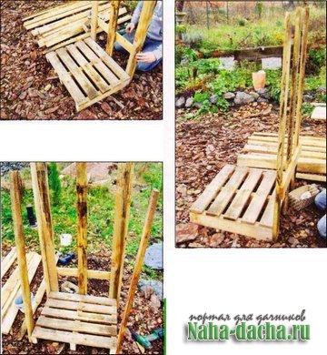 строительство дровяника