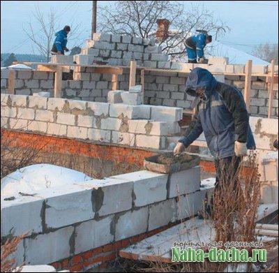 Строительство из газобетон