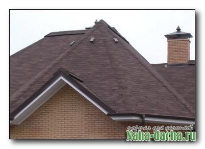 Чем покрыть крышу дачи