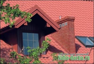 крыша с металочерепицы