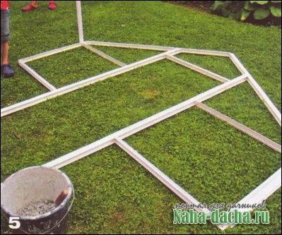 теплица алюминиевая конструкция