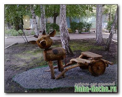 Фигурка для сада «Бычок — «смоляной бочок»