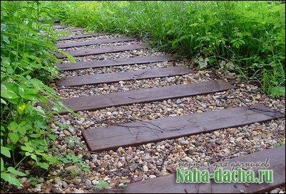 Какие сделать садовые дорожки