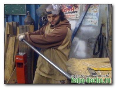 Как согнуть железную трубу