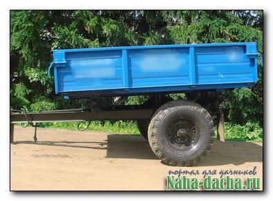 Прицеп тракторный одноосный, купить одноосный прицеп для.