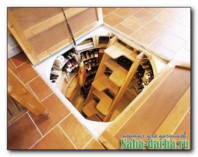 Опыт постройки погреба с высокими грунтовыми водами