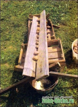 приспособление сортировки картофеля