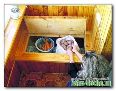Погребок для фруктов и овощей своими руками