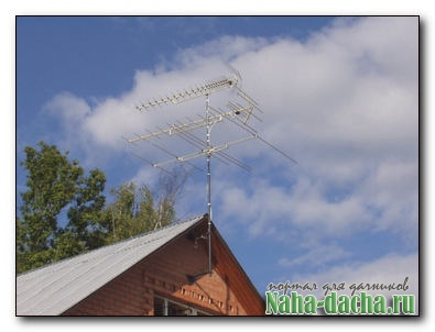Как установить антенну
