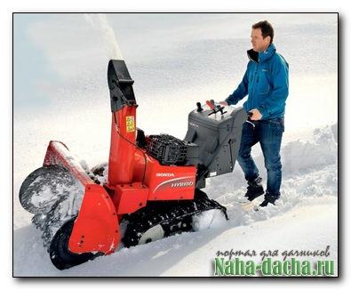 Обзор снегоуборочных машин