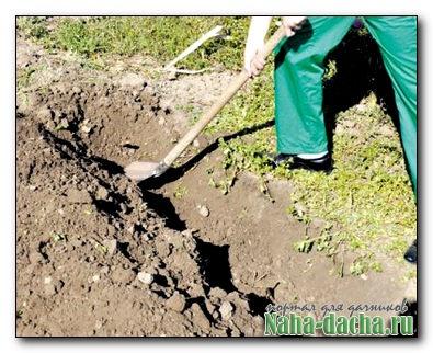Изменения лопаты для рытья канавы водоснабжения
