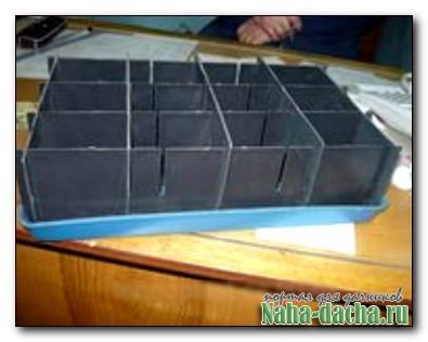 Ящик-конструктор для рассады