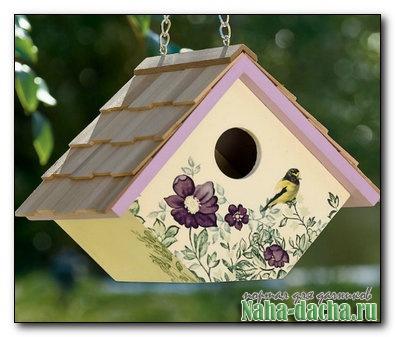 Домик для птиц своими руками