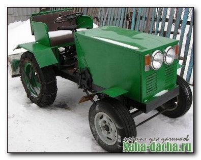 Мини-трактор своими руками