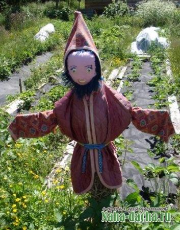 Пугало огородное своими руками