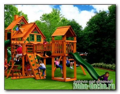 Строим игровой комплекс на даче