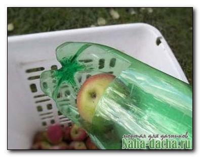 Съемник фруктов из пластиковых бутылок