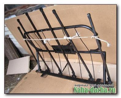 Навесное приспособление к мотоблоку-подборщик сена