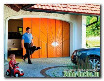 Ворота для гаража-какие выбрать