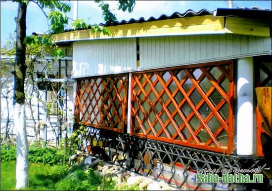 Защитите постройки от ветра