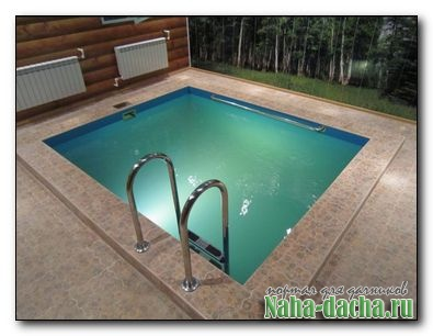 Купель-бассейн для бани своими руками