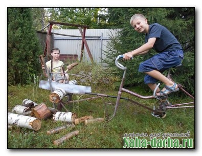 Пилорама своими руками из велосипеда