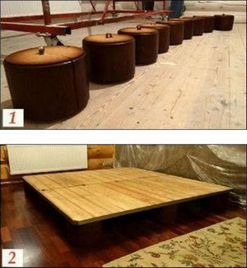 Делаем мебель на дачу своими руками