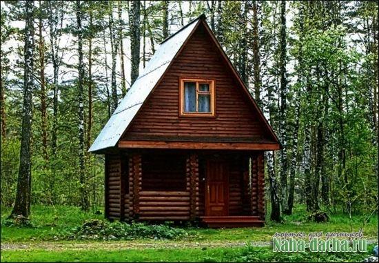 Как построить дом в лесу