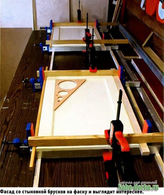 Фасады для мебели по новой технологии