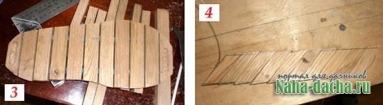 Деревянные тапочки для бани