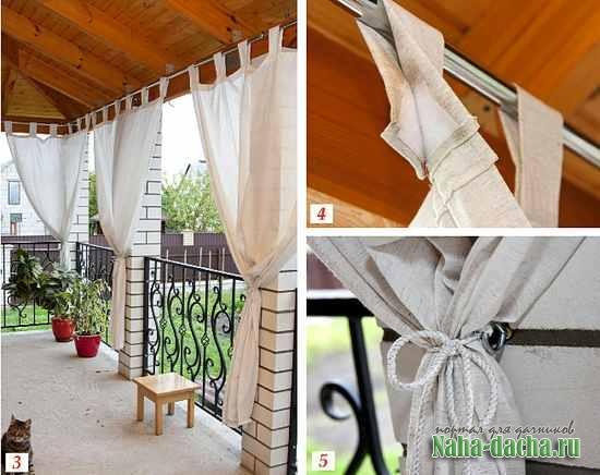 Как украсить летнюю террасу своими руками