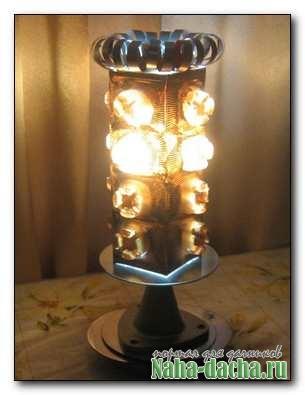 Изготовление ночного светильники