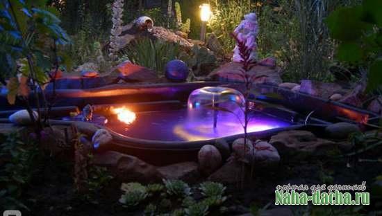 Таинство ночного сада