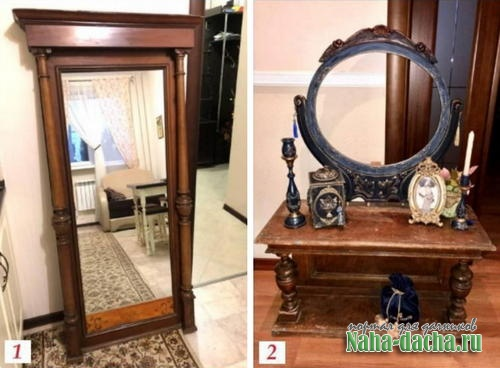 Реставрируем мебель в винтажном стиле своими руками