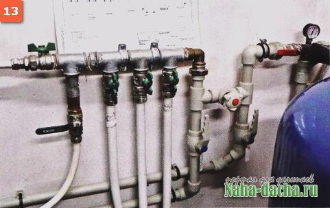 Водопровод на даче