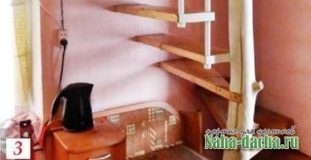 Как сделать лестницу с изгибом