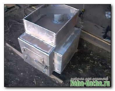 Печь для дачной баньки