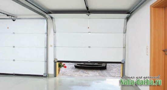 гараж на загородном участке