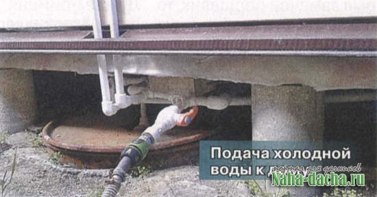Как сделать водопровод на даче