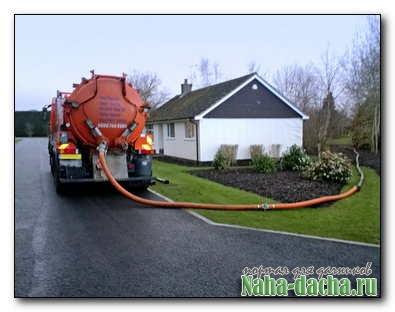 Как осуществить своевременную откачку канализации