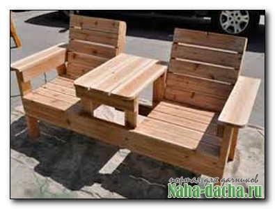 Садовые кресла из подручных материалов