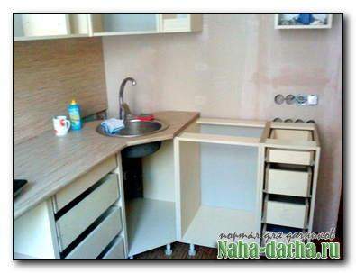 Изготавливаем кухонную мебель