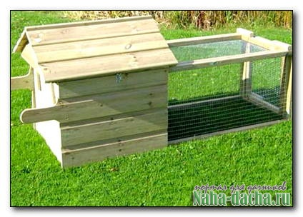Делаем домик для квочки и цыплят