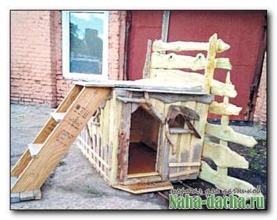 Строим будку для овчарки